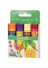 BADGER BALM - Badger Balm Green Classic Lip Balms 16.4 Gramm - Lippenpflege - LIPPENBALSAM