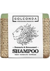 GOLCONDA NATURKOSMETIK - Golconda Produkte Golconda Produkte Haarseifen Shampoo - Rosmarin & Brennnessel 65g Trockenshampoo 65.0 g - Shampoo