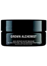 Grown Alchemist Pflege Age-Repair Sleep Masque: Oligo-Peptide, Helix-Aspersa Protein Glow Masken 40.0 ml