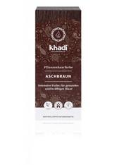 Khadi Naturkosmetik Produkte Pflanzenhaarfarben - Aschbraun 100g Haarfarbe 100.0 g