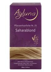 Ayluna Naturkosmetik Produkte Haarfarbe - Nr.25 Saharablond 100g Haarfarbe 100.0 g