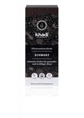 Khadi Naturkosmetik Produkte Pflanzenhaarfarben - Schwarz 100g Haarfarbe 100.0 g