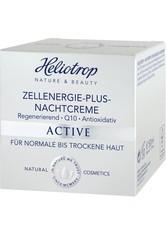 HELIOTROP - Heliotrop Active Zellenergie-Plus Nachtcreme 50 ml - NACHTPFLEGE