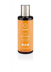 KHADI - Khadi Naturkosmetik Produkte Shampoo - Nussgras 210ml Haarshampoo 210.0 ml - SHAMPOO