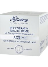 HELIOTROP - Heliotrop Active Regenerativ Nachtcreme 50 ml - Tages- und Nachtpflege - NACHTPFLEGE