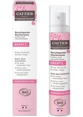 Cattier Gesichtspflege Rosa Heilerde - Nachtcreme 50ml Gesichtscreme 50.0 ml