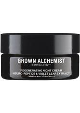 Grown Alchemist Regenerating Night Cream Neuro Peptide & Violet Leaf Extract 40 ml Gesichtscreme