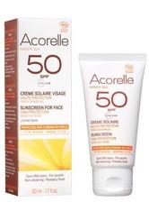 Acorelle Produkte nature sun LSF50 Sonnencreme Gesicht 50ml Sonnencreme 50.0 ml