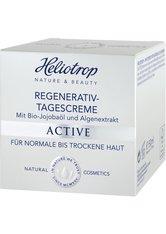 HELIOTROP - Heliotrop ACTIVE Heliotrop ACTIVE Regenerativ-Tagescreme Gesichtscreme 50.0 ml - Tagespflege