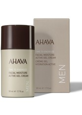 Ahava - Time To Energize Men Facial Moisture Active Gel Cream - Gesichtscreme - 50 Ml -