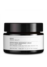 Evolve Organic Beauty Hautpflege Cotton Fresh Deodorant Cream Deodorant 30.0 ml