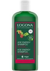 LOGONA - Logona Age Energy Shampoo Bio-Coffein 250 ml - SHAMPOO