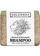 GOLCONDA NATURKOSMETIK - Golconda Haarseife Rosmarin & Brennnessel 65 Gramm - Shampoo - SHAMPOO