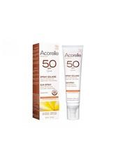 Acorelle Produkte nature sun LSF50 Sonnenspray sensitiv 100ml  100.0 ml