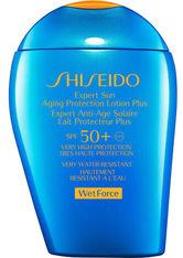Shiseido Sun Care Expert Aging Protection Lotion WetForce, 100 ml, keine Angabe