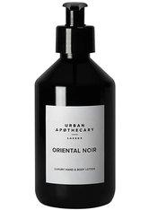 URBAN APOTHECARY - Urban Apothecary London Oriental Noir Luxury Hand & Body Lotion Bodylotion  300 ml - HÄNDE