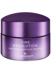 Missha Time Revolution Time Revolution Night Repair Ampoule Cream 5x Creme 50.0 ml