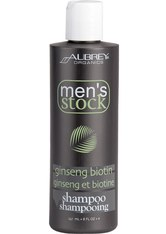 AUBREY ORGANICS - Aubrey Organics Produkte Men' s Stock Ginseng/Biotin Shampoo 237ml Haarshampoo 237.0 ml - SHAMPOO & CONDITIONER
