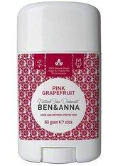 Ben & Anna Produkte Pink Grapefruit - Deo Stick 60g Deodorant 60.0 g