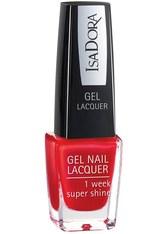 ISADORA - Isadora Gel Nail Lacquer Nr. 225 - True Red Nagellack 6.0 ml - Nagellack