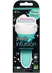 Wilkinson Intuition Intuition Sensitive Care Damen Rasierer mit 1 Rasierklinge Rasiergel 1.0 pieces