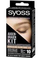 syoss Haarfarben Augenbrauen-Kit permanente Augenbrauenfarbe Haarfarbe 17.0 ml