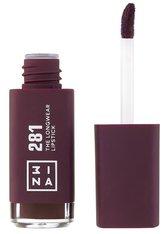 3INA Longwear Lipstick  Liquid Lipstick 7 ml Nr. 281