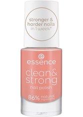 ESSENCE - essence Clean & Strong  Nagellack  8 ml NR. 04 - BRISK DAWN - NAGELLACK