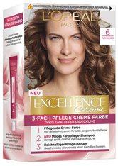 L'Oréal Paris Excellence Crème 6 Dunkelblond Coloration 1 Stk. Haarfarbe