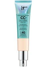 IT Cosmetics Foundation Your Skin But Better™ CC+™ Cream Oil Free Matte LSF 40 + CC Cream 32.0 ml