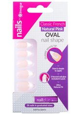 INVOGUE Produkte Invogue - French Pink Nails - Oval Nageldesign 1.0 pieces