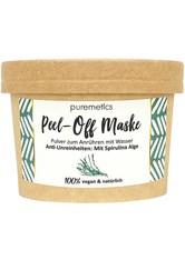 puremetics Produkte Anti-Unreinheiten: Mit Spirulina Alge Peel-Off Gesichtsmasken Maske 65.0 g