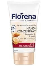 Florena Pflege Handcreme Sheabutter & Arganöl Handlotion 50.0 ml