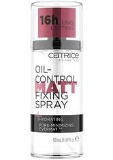 Catrice Grundierung / Primer Oil-Control Matt Fixing Spray Gesichtsspray 50.0 ml