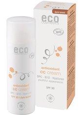 ECO COSMETICS - Eco Cosmetics Produkte Eco Cosmetics Produkte OPC. Q10 & Hyaluron - LSF30 CC Creme dunkel 50ml CC Cream 50.0 ml - Bb - Cc Cream