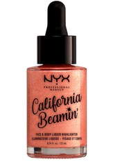 NYX Professional Makeup Highlighter California Beamin' Highlighter 22.0 ml