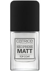 CATRICE - Catrice Nagellack Catrice Nagellack Neoprene Matt Top Coat Nagelueberlack 10.5 ml - Base & Top Coat