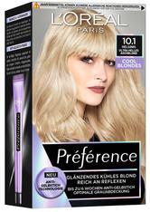 L'Oréal Paris Préférence Cool Blondes 10.1 Ultra helles Aschblond (Helsinki) Coloration 1 Stk. Haarfarbe