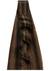 DESINAS - Desinas Produkte Desinas Produkte Tape In Extensions Highlights dunkelbraun Tape In Extensions 20.0 pieces - Extensions & Haarteile