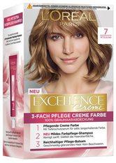 L'Oréal Paris Excellence Crème 7 Mittelblond Coloration 1 Stk. Haarfarbe