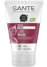Sante Haarpflege 3Min Glanz Maske Bio-Birkenblatt & pflanzliches Protein Haarmaske 100.0 ml