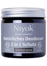 Niyok Produkte 2in1 Deodorant - Oriental Wood 40ml Deodorant 40.0 ml