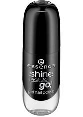 essence - Nagellack - shine last & go! gel nail polish - 46 black is back