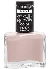 MISSLYN - Misslyn Nägel Nagellack Gel Effect Color Nr. 320 Marvelous Nude 10 ml - NAGELLACK