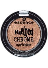 essence - Lidschatten - melted chrome eyeshadow - golden crown 08