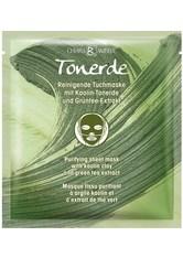 Chiara Ambra Produkte Grüntee-Extrakt Tonerde Reinigende Tuchmaske Maske 13.0 ml