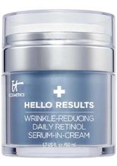 IT Cosmetics Anti-Aging-Pflege Hello Results Serum-in-Cream mit Retinol Gesichtscreme 50.0 ml