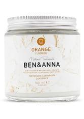 Ben & Anna Produkte Toothpaste - Orange with Fluoride 100ml Zahnpasta 100.0 ml