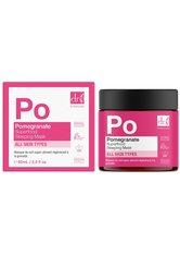 Dr Botanicals Produkte Regenerierende Schlafmaske mit Granatapfel-Superfood Maske 60.0 ml