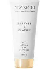 MZ SKIN - MZ SKIN Produkte MZ SKIN Produkte Cleanse & Clarify Dual Action AHA Cleanser & Mask Reinigungsgel 100.0 ml - Cleansing